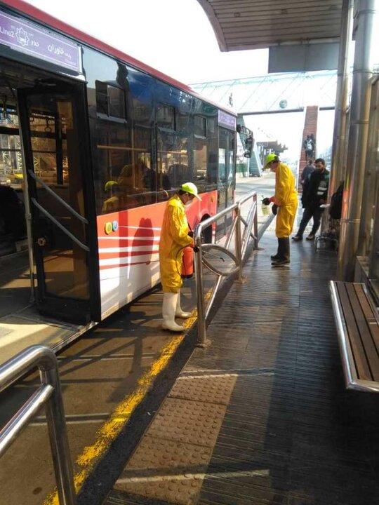 ضدعفونی 2020 دستگاه تاکسی و اتوبوس منطقه9
