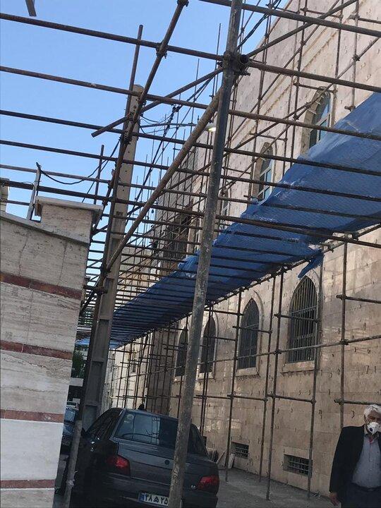 مسجد امام زمان (عج) منطقه 19 در آستانه بهره برداری قرار گرفت