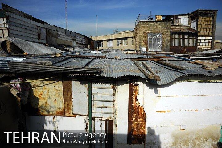در 5 درصد بافت فرسوده تهران 15 درصد جمعیت زندگی می کند