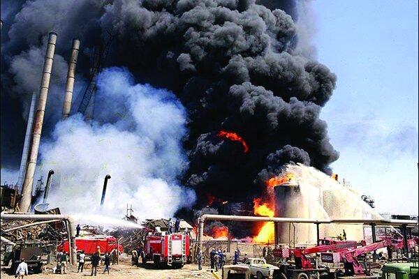 آتشسوزی در پالایشگاه تهران مهار شد