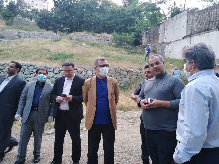 بازدید مدیرکل دفتر شهردار تهران از گرمخانه ها و پاتوق های دره فرحزاد